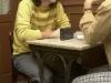 entrevista en el cafe españa